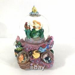 Disney The Little Mermaid Ariel Under The SeaMusical Multi Snow Globe