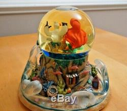 Disney The Little Mermaid Musical Light Up Snow Globe Part Of Your World