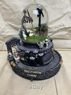 Disney The Nightmare Before Christmas Musical Snowglobe Halloween Town