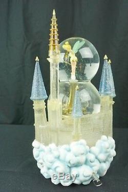 Disney Tinker Bell Share a Dream Come True Snowglobe Parade Music Lights Motion