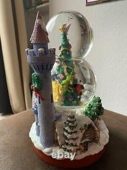 Disney Tinker Bell Snow White Christmas Musical Snowglobe