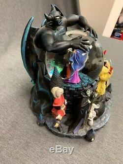 Disney Villains Musical Snowglobe Cherabog Maleficent Plays Grim Grinning Ghosts
