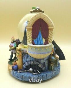 Disney Villians Evil Queen Magic Mirror Snow-White Musical/Voice Glass Globe