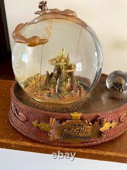 Disney Walt Disney's Peter Pan 50th Anniversary Musical Snowglobe Snow Globe