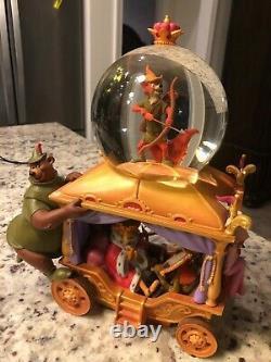 Disney's Exclusive 35th Anniversary Robin Hood Musical Snow Globe
