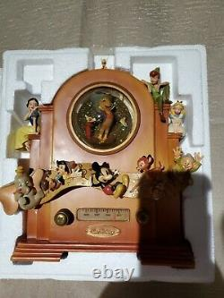 Disney's Exclusive pinokio and Jimmy retired Musical Snow Globe use