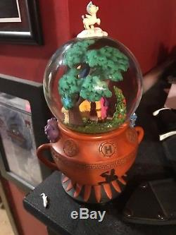 Disney's Hercules GO THE DISTANCE Musical Snow globe RARE and retired