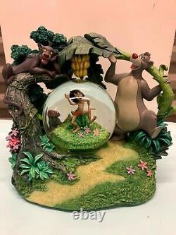 Disney's Jungle Book 40th Anniversary Rotating Musical Snowglobe