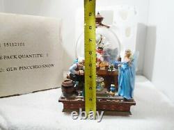 Disney's Share A Dream Come True Musical Snow Globe Pinocchio/Snow White