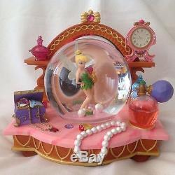 Disney's Tinker Bell HIDDEN TREASURE Musical Snowglobe