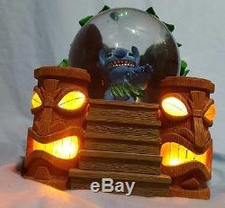 Disney's (lilo &) Stitch Light-up Tiki Snowglobe Music Box