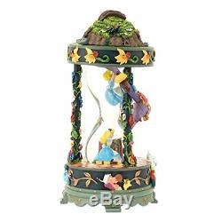 Disney store Japan 25th Anniv. Alice in Wonderland Snow Globe Dome Music box