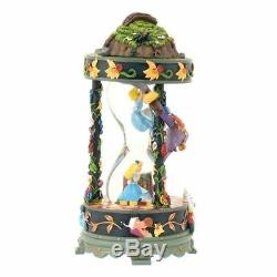 Disney store Japan 25th Anniv Alice in Wonderland Snow Globe Music Box Snow Dome
