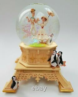 Disneyland Paris Disney Mary Poppins Bert Musical Snow Globe Its A Jolly Holiday