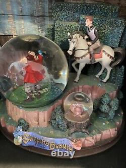 Exclusive Disney Sleeping Beauty Snow Globe Musical multi globes