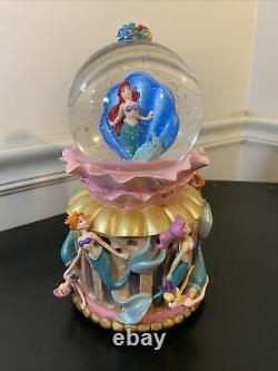 Little Mermaid Daughters Of Triton musical Snow Globe 1988