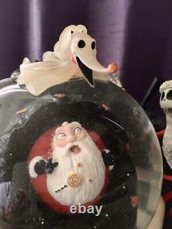 Nightmare Before Christmas Big Snow Globe Light Up With Music Box Tim Burton JP