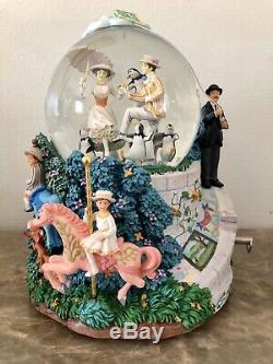 Original Vintage Disney SnowGlobe MaryPoppins LetsGoFlyAKite Musical