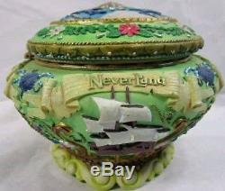RARE DISNEY TINKER BELL Peter Pan Neverland Music Box You can Fly 1951