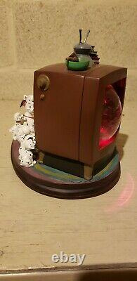 RARE Disney 101 DALMATIANS Collectible Musical Blower Light snow globeChair TV