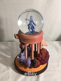 RARE Disney FANTASIA GODDESS Figurines Lite Up Musical SnowGlobe/RETIRED