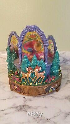 RARE Disney Kiss the girl Musical Snowglobe