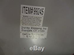 RARE Disney Plane Crazy Mickey Mouse Minnie 80th Anniversary Snowglobe Music Box