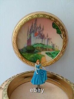 RARE Disney Sleeping Beauty Ballerina Music Box Once Upon A Dream Blue Dress