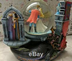 RARE Disney Sleeping Beauty Once Upon A Dream Musical Snow Globe