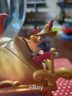 RARE Disney Store Exclusive 35th Anniversary Robin Hood Musical Snowglobe