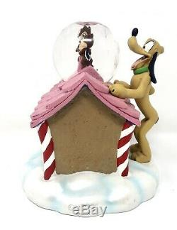Rare 2010 Disney Personalized Mickey Mouse And Friends Christmas Music Snowglobe