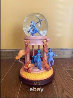 Rare Disney Fantasia Goddess Musical & Light Up Snow Globe with Box EUC