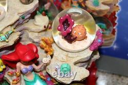 Rare Disney The Little Mermaid Under The Sea Collectors Musical Snowglobe