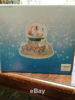 Rare disney musical snow globe