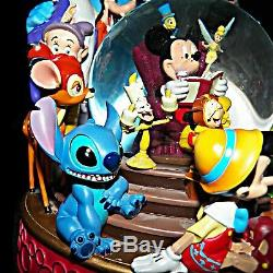 Retired Wonderful World of Disney When You Wish Upon A Star Musical Snowglobe 23