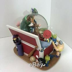 SUPER RARE Disney Toy Story Andy's Chest Snow Globe Woody & Buzz (music box)
