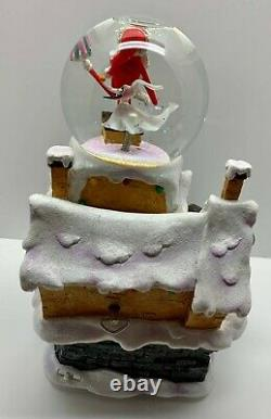 SUPER RARE! Nightmare Before Christmas Limited Edition Musical Snowglobe