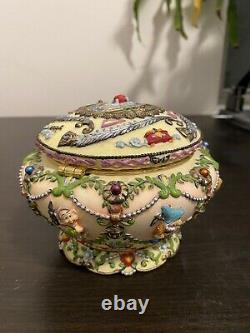Snow White Musical Jewelry Box Disney Rare