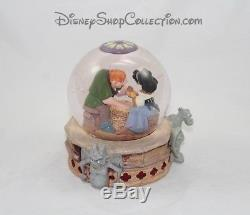 Snow globe musical Esmeralda Quasimodo DISNEY Le Bossu de Notre Dame Heaven's