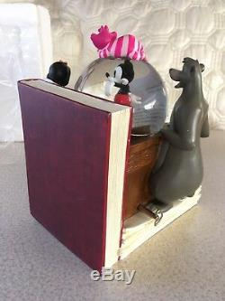 THROUGH THE YEARS Vol. 1 Disney Classics Snowglobe Musical Bookend 2008