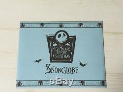 The Nightmare Before Christmas SnowGlobe Sleigh Music box & Light Disney Store