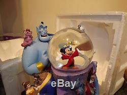 The Wonderful World Of Disney Store Light Up Musical Snow Globe Friend Like Me