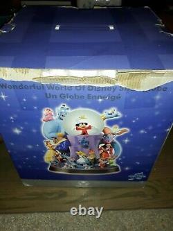 The Wonderful World Of Disney Store Light Up Musical Snow Globe Friend Like Me