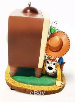 Toy Story 2 TV Snowglobe Music box Disney plays You've Got A Friend In Me