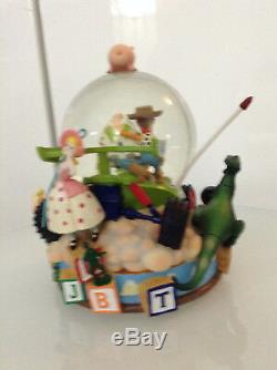 Toy Story You've Got A Friend In Me Musical 1st Movie Snowglobe Largewoody Buzz