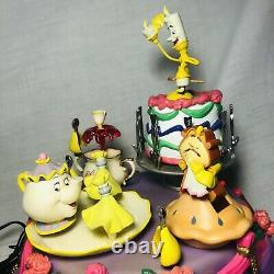 VINTAGE RARE 1994 Enesco Disney Beauty and the Beast Deluxe Musical Discontinued