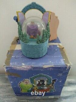 Vintage 1991 Disney Store Beauty And The Beast Musical Dancing Snowglobe