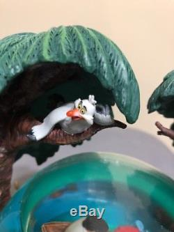 Vtg Rare Ariel Little Mermaid Kiss the Girl Disney Store Musical Snow Globe