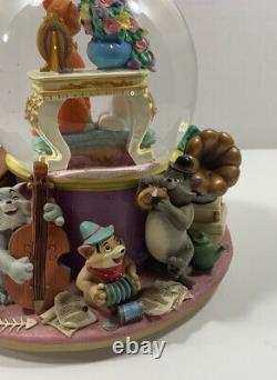 Walt Disney Musical Piano Aristocat Snowglobe