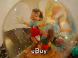 Walt Disney World Disney Share A Dream Snowglobe Snow White Pinocchio Musical